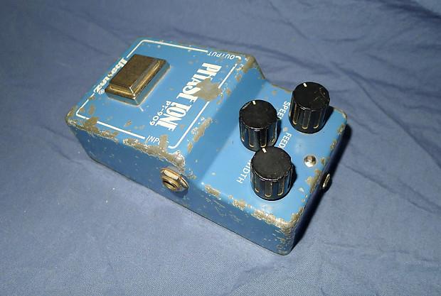 vintage ibanez phase tone pt 909 phaser guitar effect pedal reverb. Black Bedroom Furniture Sets. Home Design Ideas