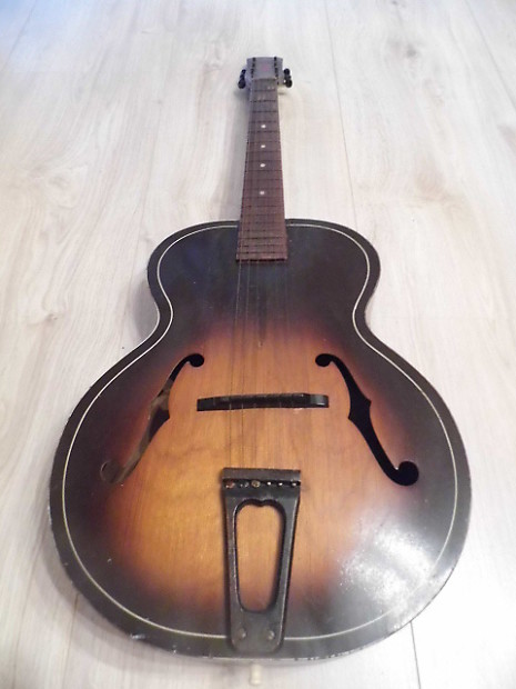 vintage harmony archtone h1215 acoustic archtop guitar usa reverb. Black Bedroom Furniture Sets. Home Design Ideas