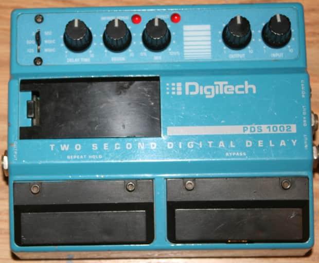 1980s digitech pds1002 digital delay guitar effect pedal reverb. Black Bedroom Furniture Sets. Home Design Ideas