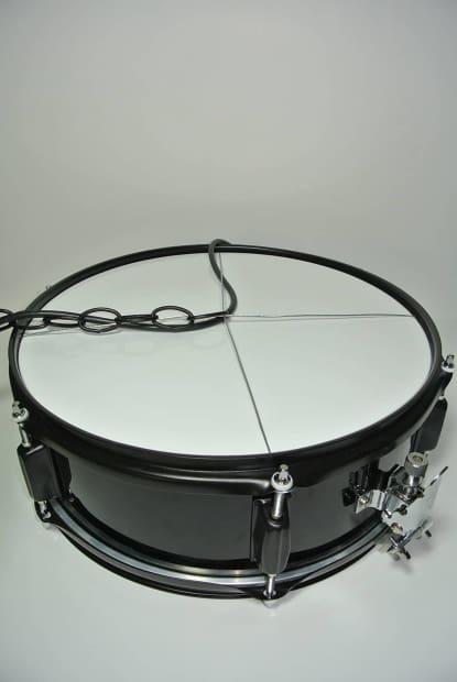 vintage snare drum light pendant hanging vintage drum light reverb. Black Bedroom Furniture Sets. Home Design Ideas
