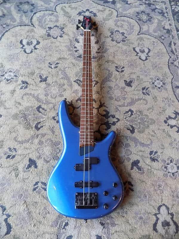 Ibanez Sr500 Soundgear Electric Bass Active 1990s Metallic