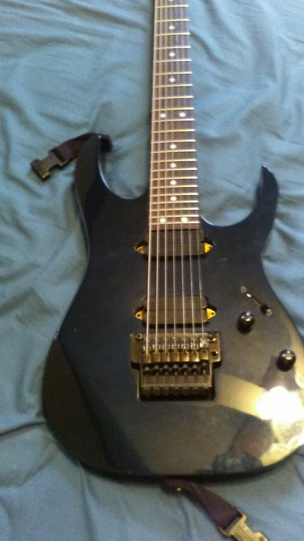 ibanez rg7620 7 string electric guitar made in japan 1998 reverb. Black Bedroom Furniture Sets. Home Design Ideas