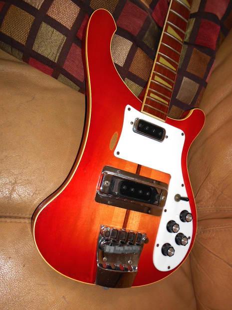 rickenbacker 4001 1974 fireglow reverb