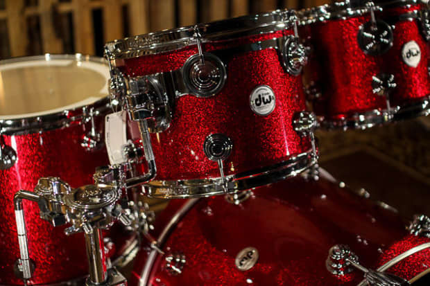 Dw Drums Collector S Red Sparkle Finish Ply So 884852