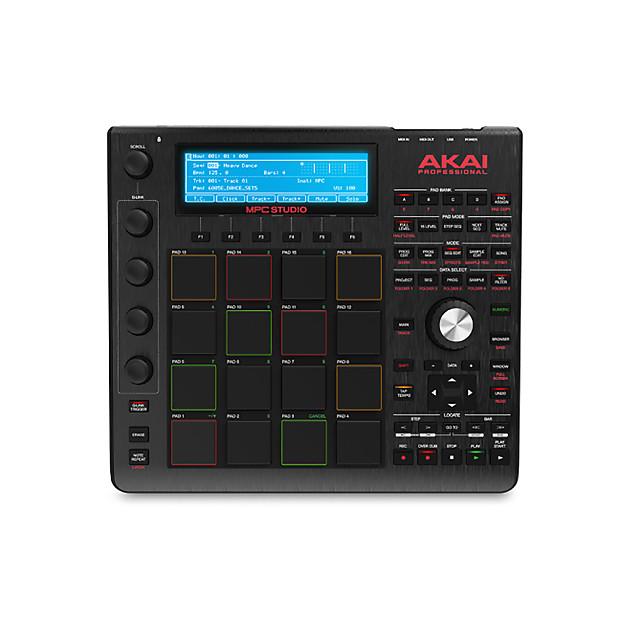 Akai Mpc Studio Mac Windows Drum Pad Machine Music