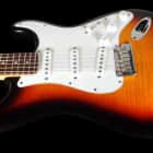 2013 Fender Stratocaster Custom Shop Custom Deluxe Strat AA Flame Top ~ Antique Burst image