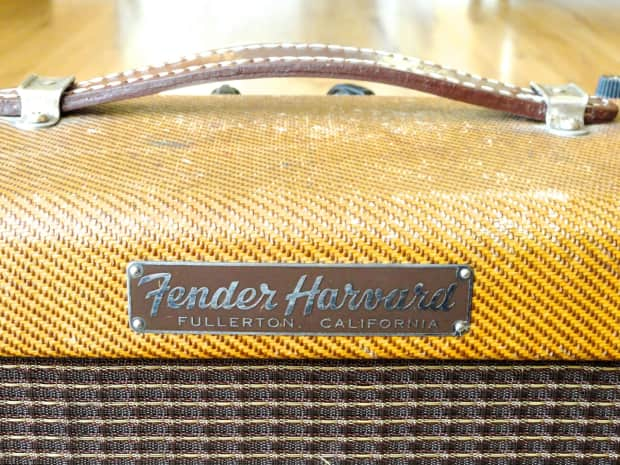 1959 fender harvard narrow panel tweed 5f10 vintage pre cbs reverb. Black Bedroom Furniture Sets. Home Design Ideas
