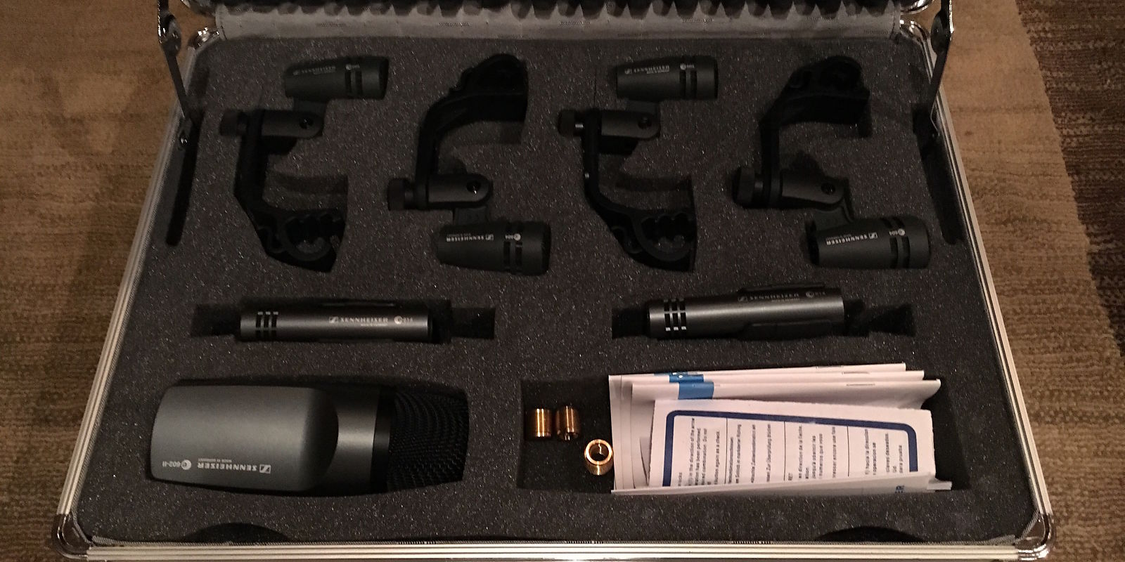 sennheiser e600 drum pack 7 piece microphone kit reverb. Black Bedroom Furniture Sets. Home Design Ideas