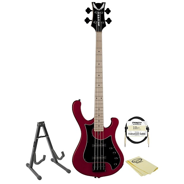 Dean Guitars Motto Electric Bass With Stand Cable Amp Reverb
