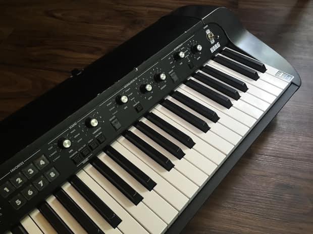 korg sv 1 73 key stage vintage piano black reverb. Black Bedroom Furniture Sets. Home Design Ideas