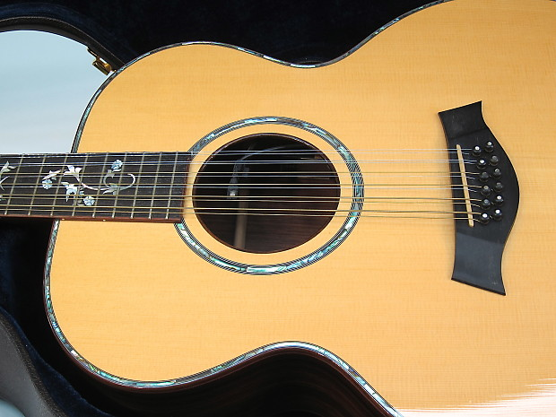 1996 taylor 955 12 string jumbo acoustic guitar abalone bound reverb. Black Bedroom Furniture Sets. Home Design Ideas