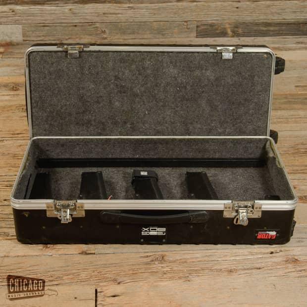 gator ata gig box guitar stand pedal board w tsa reverb. Black Bedroom Furniture Sets. Home Design Ideas