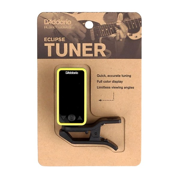 d addario eclipse tuner instructions