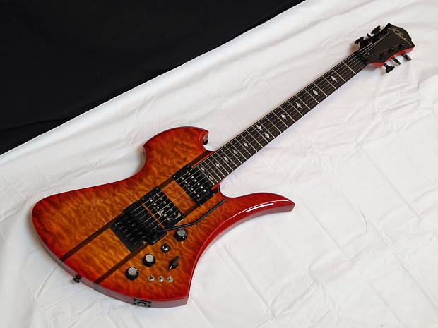 bc rich mockingbird st electric guitar in honey burst w case reverb. Black Bedroom Furniture Sets. Home Design Ideas