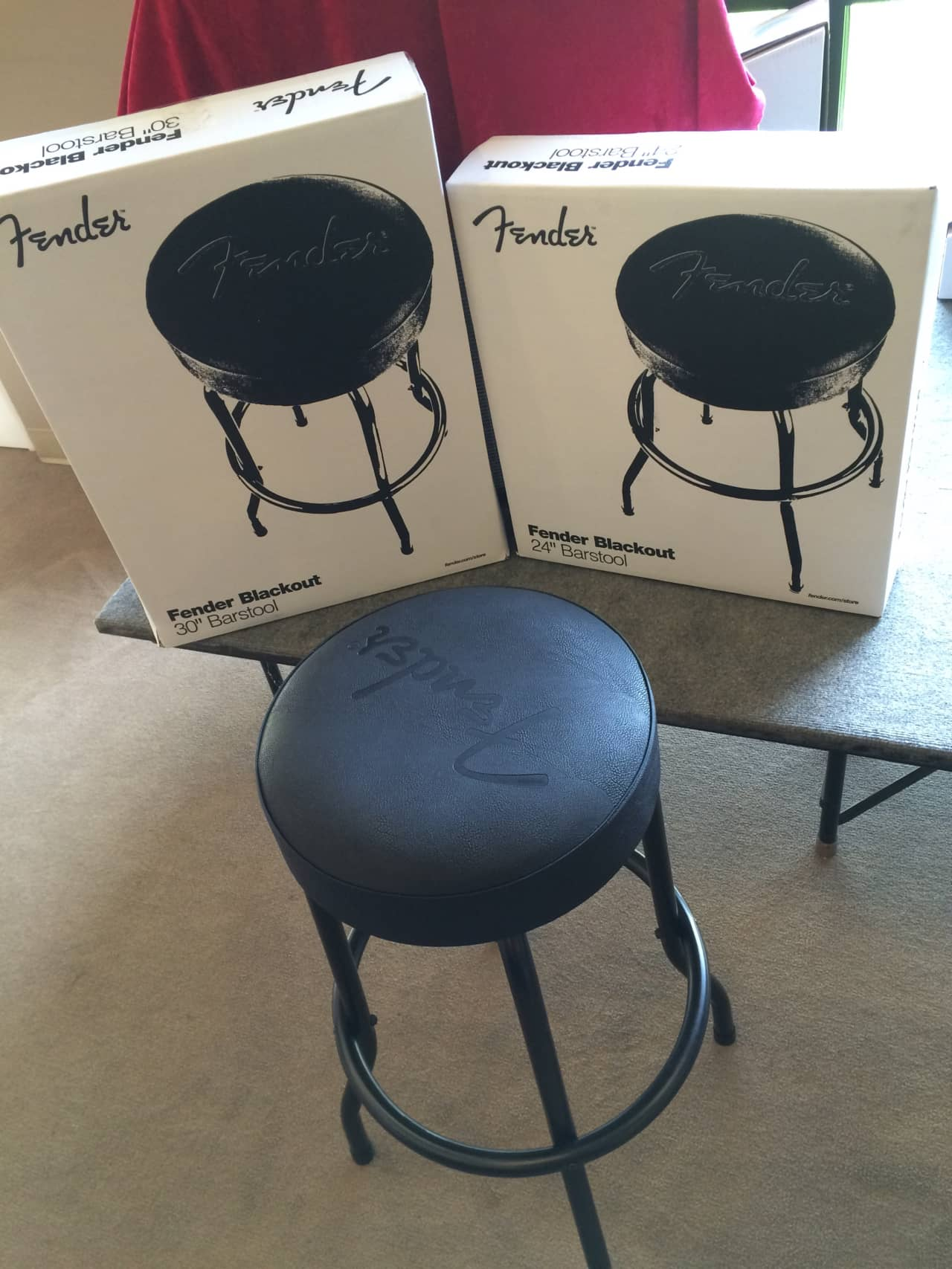 Fender Guitar Bar Stool Blackout Style 30quot Reverb : ozkdyqh7n0zs3sxppj4p from reverb.com size 1280 x 1707 jpeg 165kB