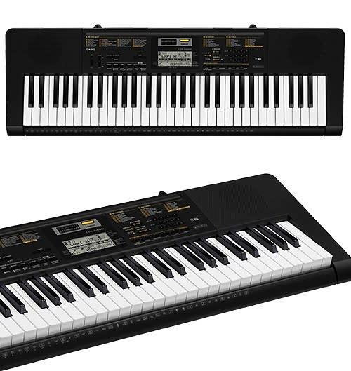 Casio CTK2400 Digital Electronic Slim Keyboard Pack With