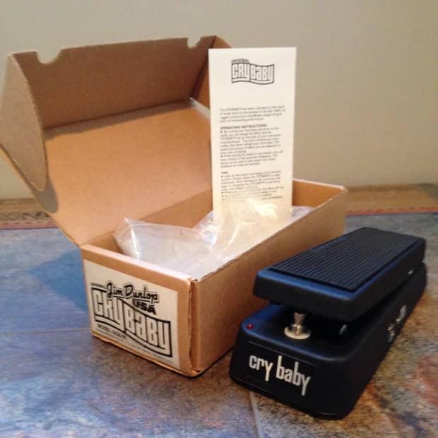 Jim Dunlop Usa Crybaby Wah Original Model Gcb 95 W True