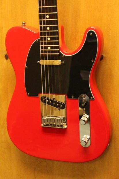 2000 fender usa american standard telecaster red noiseless pickups tweed case reverb. Black Bedroom Furniture Sets. Home Design Ideas