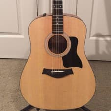 2016 Taylor 110e Acoustic Electric Guitar with Taylor soft case image