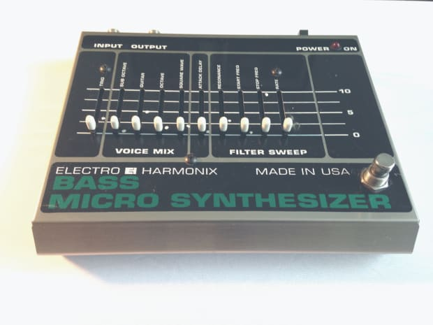 electro harmonix bass micro synth metal reverb. Black Bedroom Furniture Sets. Home Design Ideas