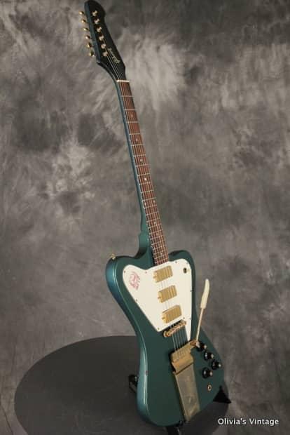 Gibson Firebird Vii Rare Original Pelham Blue 1969 Reverb
