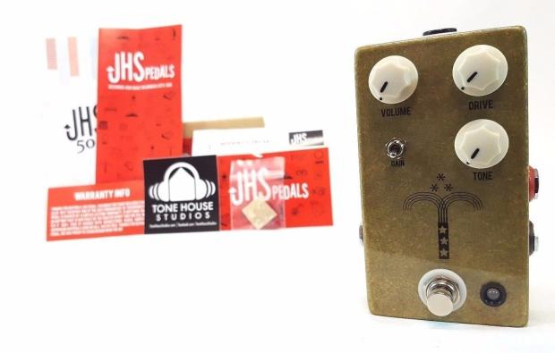 JHS Morning Glory V4 Overdrive OD Guitar Effect Pedal w/ Box & Free ...