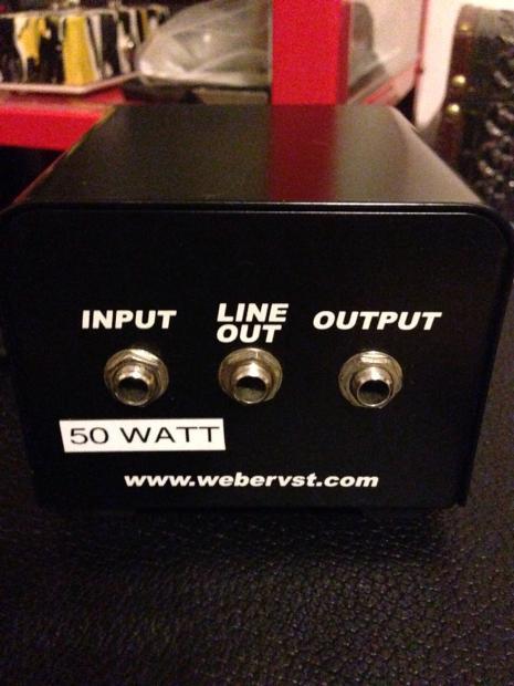Weber Mini Mass 50w Attenuator Reverb