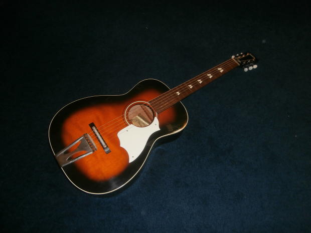 vintage 1972 stella harmony h 6130 parlor acoustic guitar usa made reverb. Black Bedroom Furniture Sets. Home Design Ideas