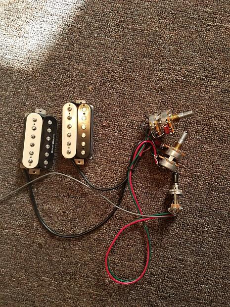 seymour duncan duncan designed humbuckers w wiring harness reverb
