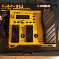 Boss GP-10 with Roland GK-3 pickup