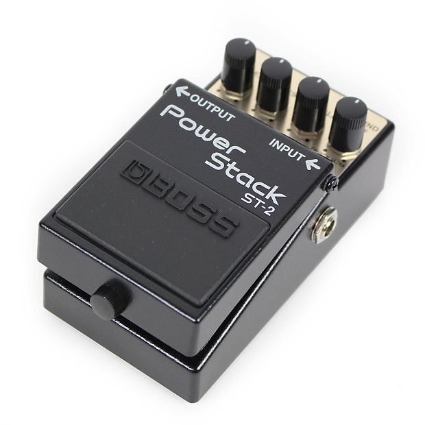 used boss st 2 power stack distortion pedal reverb. Black Bedroom Furniture Sets. Home Design Ideas