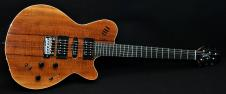 Godin xTsa Koa Electric Guitar w/ Gig Bag Professionally Setup! image