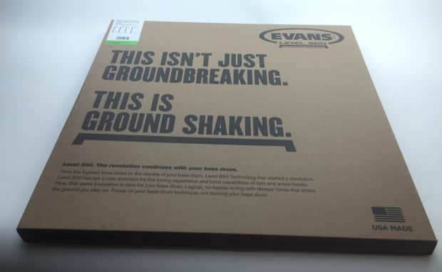 evans level 360 16quot emad tom batter clear tt16emad reverb