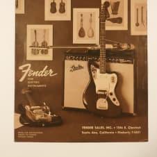 Fender Price List April, 1964 Catalog Telecaster Stratocaster Jazzmaster Jaguar image