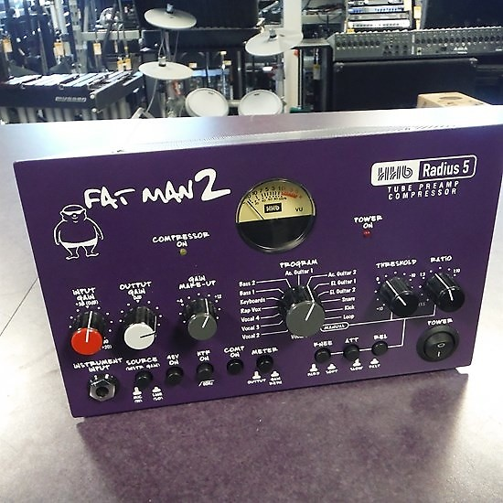 Hhhb: HHB Radius Fat Man 2 Tube Preamp Compressor PreAmplifier