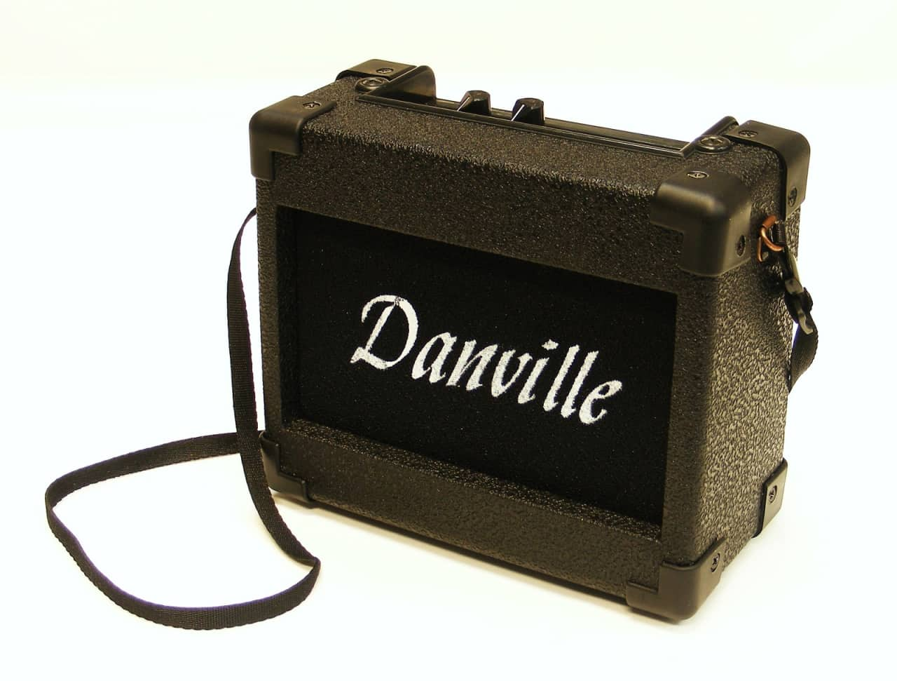 danville portable mini guitar amplifier battery or ac reverb