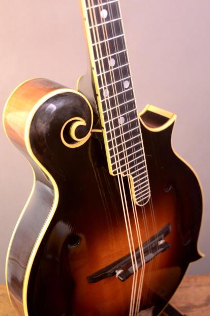 Gibson F-5 Bill Monroe Mandolin #31 of 200 Signed By Bill ...
