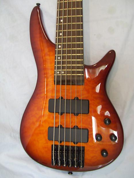 6 string bass guitar active pickups reverb. Black Bedroom Furniture Sets. Home Design Ideas