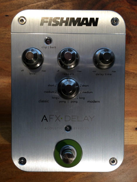 fishman afx delay acoustic instrument guitar electric effect pedal reverb. Black Bedroom Furniture Sets. Home Design Ideas