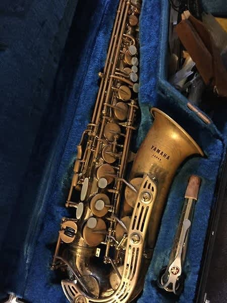 Yamaha Sax Where The Horn Comes Off