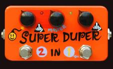 2005 Zvex Super Duper 2 in 1 (Myrold hand painted), BRAND NEW (old stock)! image