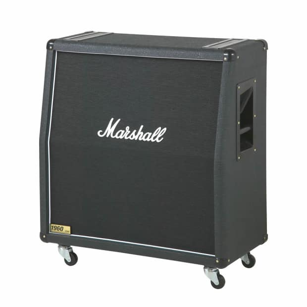 marshall 1960a 300 watt 4x12 angled electric guitar cabinet reverb. Black Bedroom Furniture Sets. Home Design Ideas