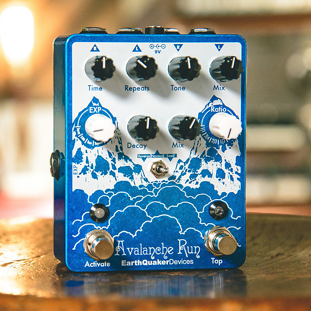 earthquaker devices avalanche run stereo delay and reverb reverb. Black Bedroom Furniture Sets. Home Design Ideas