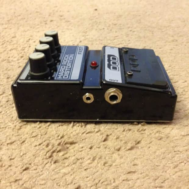 dod fx57 hard rock distortion pedal reverb. Black Bedroom Furniture Sets. Home Design Ideas