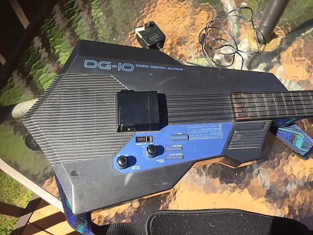 casio dg 10 keytar electric guitar synth keyboard drum reverb. Black Bedroom Furniture Sets. Home Design Ideas