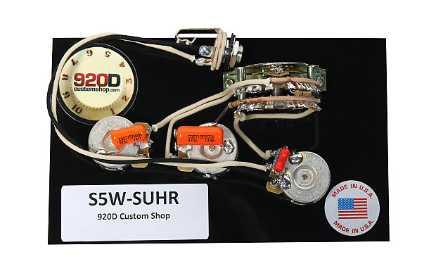 920d Custom Shop  U0026quot Suhr U0026quot  Hss Wiring Harness W   5 Way Super