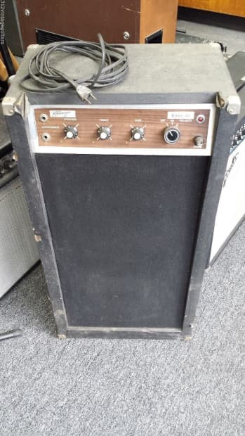 1960 39 s kalamazoo bass 30 electric guitar amplifier vintage reverb. Black Bedroom Furniture Sets. Home Design Ideas
