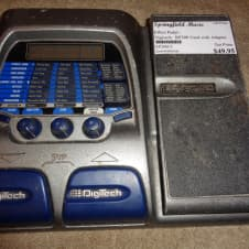 used Digitech RP200 multi effect processor pedal with adapter image