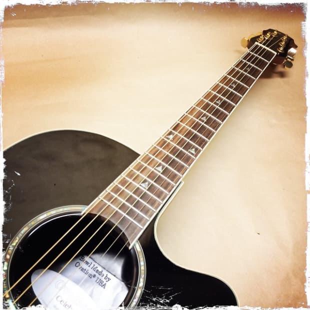Ovation Celebrity CSE24 6-String Acoustic-Electric Guitar ...
