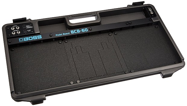 boss bcb 60 deluxe pedal board and case reverb. Black Bedroom Furniture Sets. Home Design Ideas